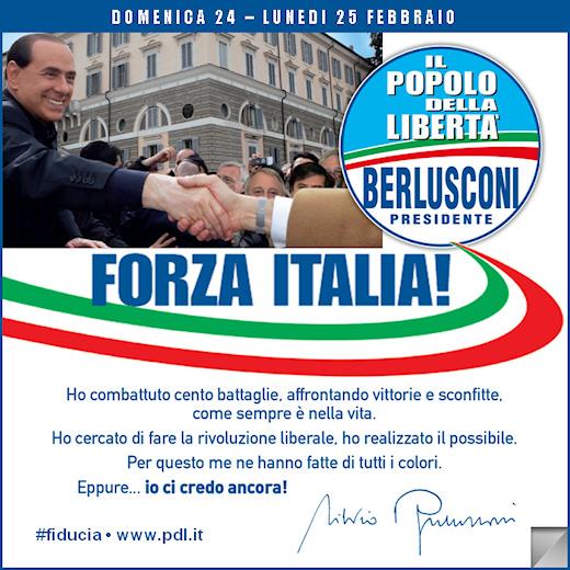 Pdl il popolo della libert forza italia i nostri impegni for Deputati di forza italia